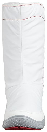 Crocs - Duet Busy Day Winter Boot W, Stivali Donna Bianco (Blanc (White/Light Grey))