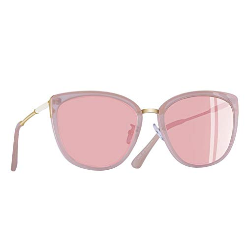 MYTYJ Brand Design New cat Eye Sonnenbrille Damenmode kleine polarisierte Sonnenbrille metallic Sonnenbrille