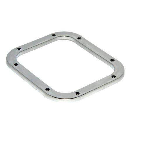 KMH-CSR306 - Chrom Schaltrahmen Rahmen Blende Zierleiste passend für Punto 106 A-Klasse