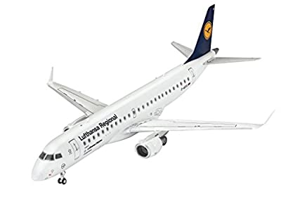 Revell Model Set 63937 Maquette Avion Embraer 190 Lufthansa
