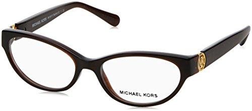 Occhiali da vista Michael Kors MK8009 3021 marrone eyeglasses sehbrille donna, 50-15