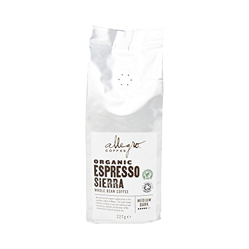 Allegro Coffee Organic Espresso Sierra Whole Bean Coffee, 227 g 31B5rd9P4BL