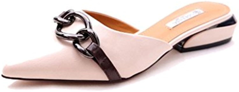 Single scarpe - female ALUK- ALUK- ALUK- Europa e Stati Uniti - pattini di pattini piani dei pattini piani dei piedini metallo...   Nuovi prodotti nel 2019  265d70