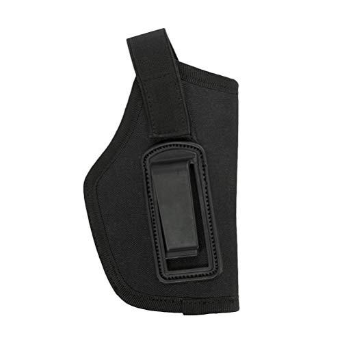 Vosarea Waffenholster Universal Pistole Trageholster Pistolenhalfter (Schwarz)
