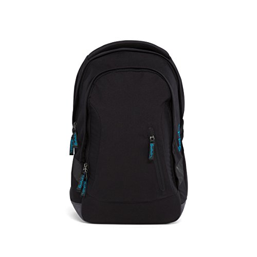 Satch Schulrucksack Sleek Black Bounce 801 schwarz