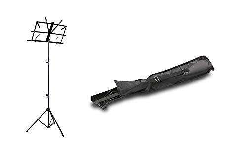 ZOUNDHOUSE ZH-5 Notenständer schwarz mit Tasche, sehr einfache Bedienung...