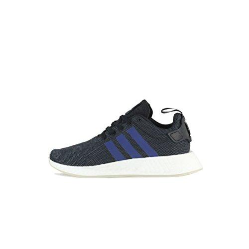 Adidas NMD_R2 W, Zapatillas de Deporte para Mujer, Negro (Negbas/Indnob/Ftwbla 000), 43 1/3 EU