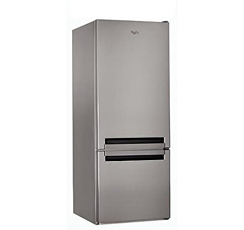 Whirlpool BLF 5121 OX Autonome 271L A+ Acier inoxydable réfrigérateur-congélateur - réfrigérateurs-congélateurs (Autonome, Acier inoxydable, Droite, R600a, Verre, 271