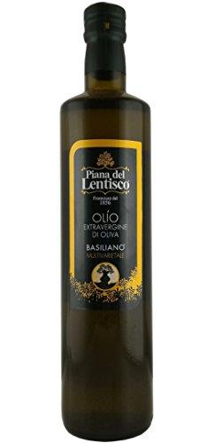 0,75 litri - olio extravergine d'oliva basiliano 100% italiano - blend con ottimo fruttato e gusto bilanciato