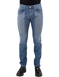 JECKERSON Jeans Toppa in Alcantara Azzurro 9adf6e02f70