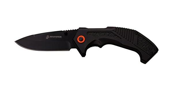 Master USA Taschenmesser MU-A008 Serie Messer Nylon Fiber SCHWARZ Griff