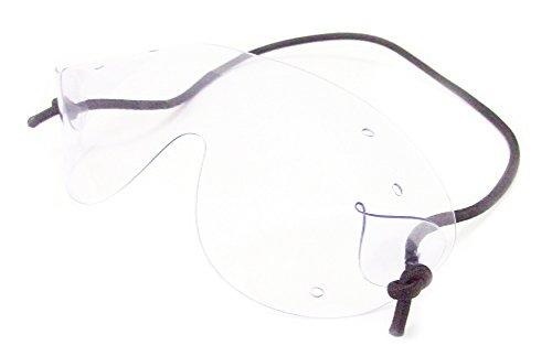 flexvision Original Größe Fallschirmspringen Fallschirm Brillen | CLEAR LENS schwarz schwarz Original