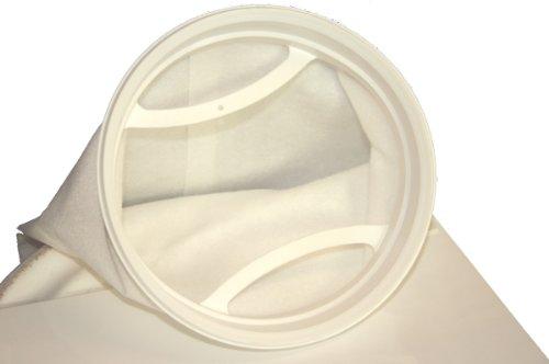 Tomodachi Filterbeutel aus Polypropylen Nadelfilz 25µm zur Feinstfiltration am Koiteich, filtert sogar grünes Wasser -