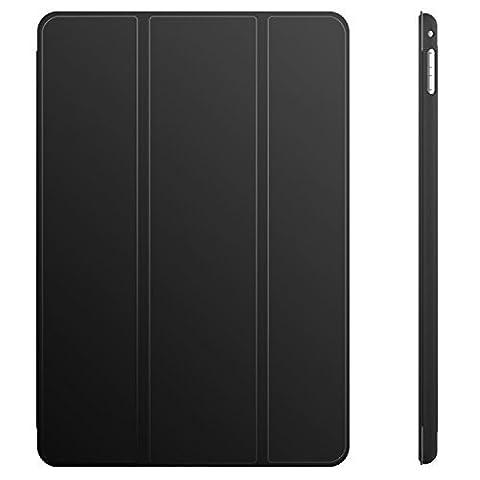 iPad Mini 4 Etui, JETech® Gold serie Slim-Fit Folio Smart Case Coque Etui pour Apple iPad Mini 4 version 2015 avec la fonction mise en Veille Automatique (iPad Mini 4, Noir)