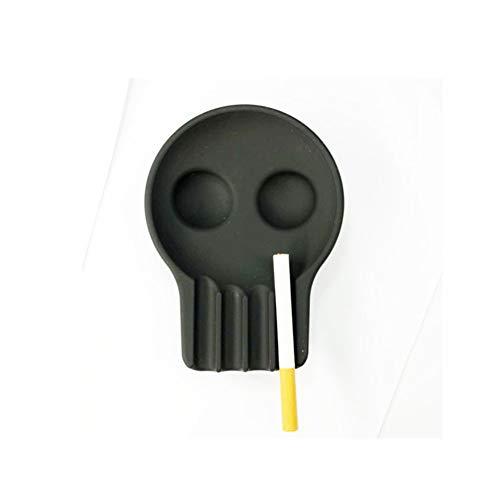 CUTE ASH Reative Silikon Aschenbecher,Menschlicher Schädel Design Multi-Farbe Portable Aschenbecher Schönes Geschenk Für Männer Frauen -