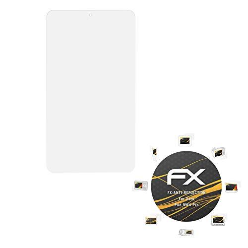 atFolix Panzerfolie kompatibel mit Xoro Pad 9W4 Pro Schutzfolie, entspiegelnde & stoßdämpfende FX Folie (2X)