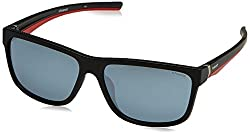Polaroid Polarized Rectangular Mens Sunglasses - (PLD 7014/S OIT 59EX|59|Silver Color)
