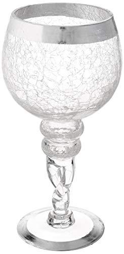 Fifth Avenue Crystal 215179-gb Buckingham Kerzenhaltern (Set von 2), silber Buckingham Crystal