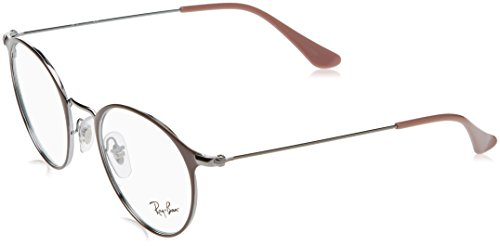 Ray-Ban Unisex-Erwachsene Brillengestell 0rx 6378 2907 47, Grau (Gunmetal/Turtledove)
