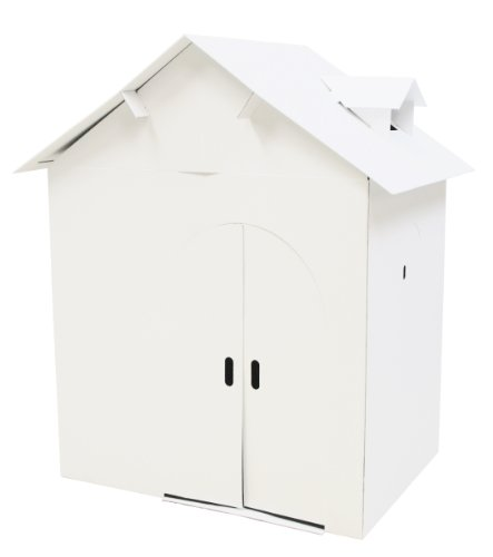 Paper furniture Plain White House (japan import)