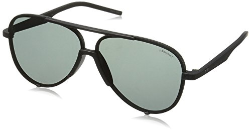 Polaroid homme 04213 Y2 0Gn 58 Montures de lunettes, Noir (Black/Grey)