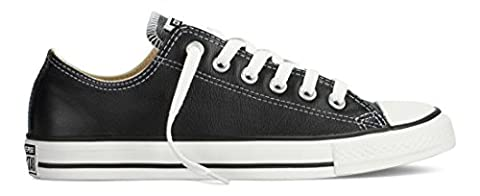 Converse Chuck Taylor Core Lea Ox Unisex-Adult Trainers Black/White Size: