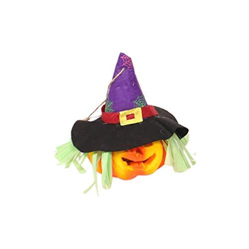 Aploa Halloween Anhänger Dekoration hohl leuchtende Kürbis Licht Halloween LED Licht Dekoration Requisiten Für Wohnkultur, Party, Halloween, Weihnachten, Karneval, Geburtstag (B) (Maske Pferd Kopf Zum Verkauf)