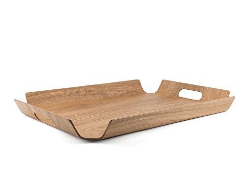 (Bredemeijer BG00003 Tablett Madera rechteckig Weidenholz, XL)