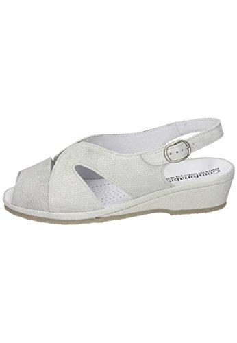 Confortável Sandale Damen Damen Silber Confortável Confortável Silber Silber Damen Sandale Damen Sandale SnFFYqRA