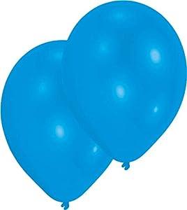 amscan 9904944 - Globos de látex (50 Unidades), Color Azul