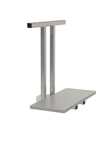 Preisvergleich Produktbild PC-Halter für Elektrisch höhenverstellbarer Schreibtisch, e Silber