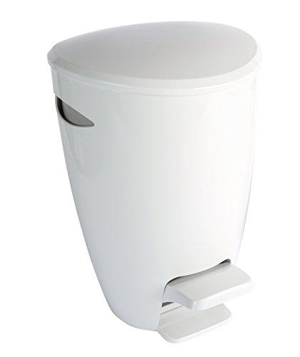 papelera-de-bano-croydex-plastico-blanco-gris