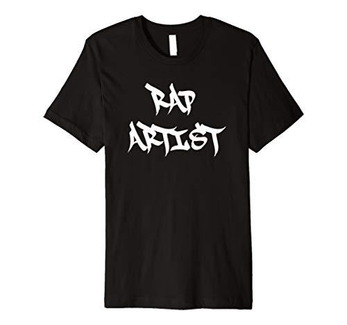 Funny Halloween Rap Künstler Rapper Kostüm Shirt (Rapper Halloween Kostüme)