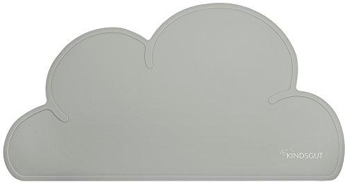 Kindsgut Platzdeckchen Wolke, Tisch-Set dunkelgrau (Tischsets Für Das Lernen)