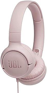 JBL Tune T500 Słuchawki Wokółuszne Różowe