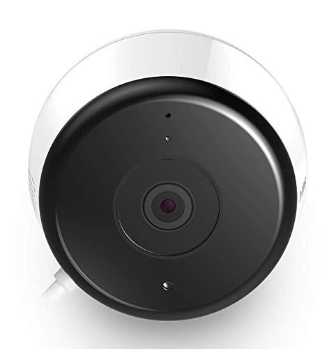 D-Link DCS-8600LH Telecamera di Sorveglianza da Esterno Full Hd, Audio Bidirezionale, Rileva Suoni e Movimenti, Bianco