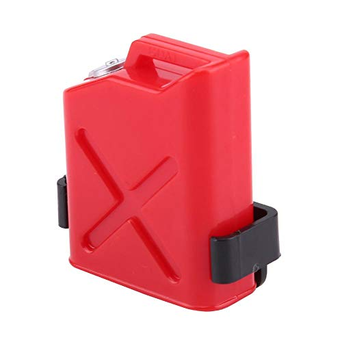 Dilwe Mini Heizölbehälter für RC Auto, Kunststoff Mini Heizölbehälter Zubehör für 1:10 Rock Crawler