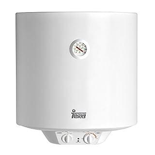 Teka - Termo Electrico Ewh50, 50L, Blanco, Tanque Esmaltado, Resistencia Ceramica, Termostato Temperatura 30-75º, 1500W (B007PS6ZBS)   Amazon Products
