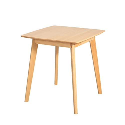 Laptopständer DD Beistelltisch, Esstisch Aus Massivholz, Nordic Square Table, Konferenztisch Verhandeln, Square Snack Table -Werkbank (Farbe :...