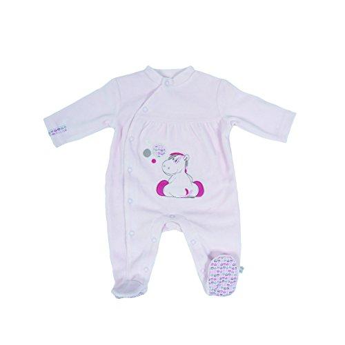 Noukies BB1260132 Pyjama, Rose (Rosa), 6 Mois (Taille Fabricant: 68 (6M) Bébé Fille