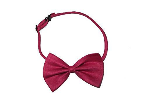 Rose Rosa Nerd Outfit Wayfarer Brille + Fliege Geek Kostüm School Girl Boy Fancy Kleid (Girl Geek Kostüme)