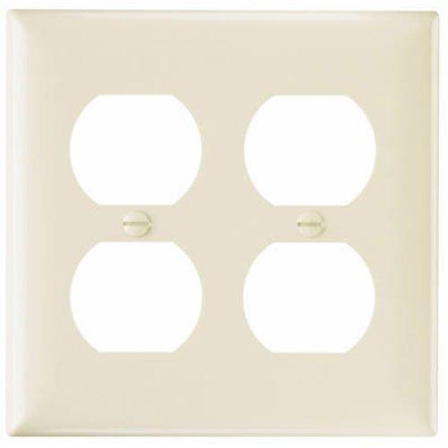 PASS & SEYMOUR Light Almond Duplex Urea Wall Plate