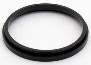 TS-Optics T-2 Zwischenring Verlängerungshülse (3 mm - TST2V3, Schwarz)