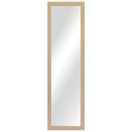 Garderobenspiegel Wandspiegel Frisierspiegel Flurspiegel Barspiegel 36,5x126,5cm -...