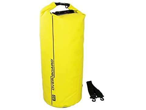 Overboard Waterproof Dry Tube Bag, 5 Litres, Yellow