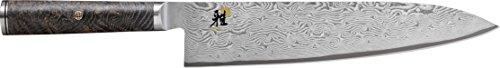 Miyabi 34401-241 Kochmesser, Stahl, Silber, 38,8 x 8,9 x 3,8 cm