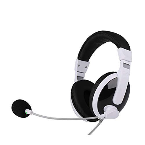 LXFTK Kopfhörer für Computer, Desktop-Computer, Universal, Vokal-Kopfhörer, Virtual Reality Kopfhörer, Geräuschunterdrückung, Stereo-Sound