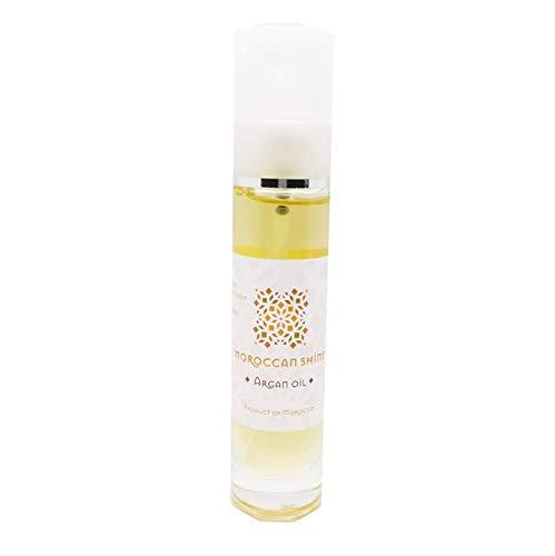 Huile d'Argan Cosmétique 30ml Moroccan Shine Argan Oil 100% Bio Pure Produit Hydratant Nourrissant Réparateur Anti-Âge Idéal Soin de Beauté pour Peau Corps Visage Cheveux Ongles