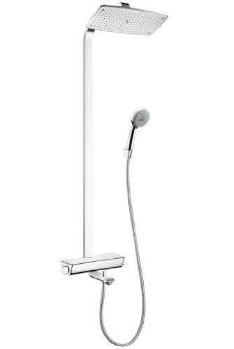 Preisvergleich Produktbild Hansgrohe Showerpipe Raindance Select we./chr. mit KB Raindance E Air 1jet 360mm Wanne 271100