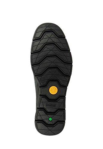 TIMBERLAND A18WI black nero scarpe scarponcini donna mid lacci Nero
